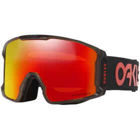 Oakley Line Miner XL Signature Lunettes de ski Homme, Scotty James/crystal black/prizm snow torch